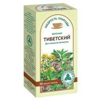 Чай лечебный ТИБЕТСКИЙ ОЧИЩАЮЩИЙ пак.-фильтр 2г №20