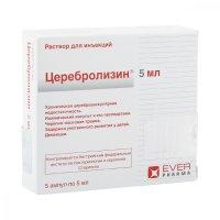 Церебролизин амп.(р-р д/ин.) 5мл №5