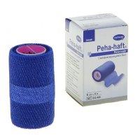 Бинт PEHA-HAFT Latexfree фикс. когезив. 4м х 8см (синий)