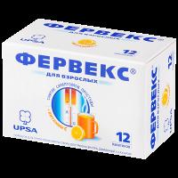 Фервекс пак.(пор. лимонный д/р-ра орал.) №12 с сахаром
