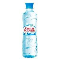 Вода питьевая СВЯТОЙ ИСТОЧНИК 0,5л (негаз.) пэт
