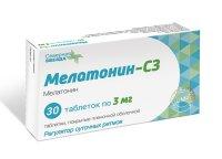 Мелатонин-СЗ таб. п/пл.об. 3мг №30