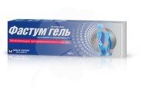 Фастум туба(гель д/наружн. прим.) 2,5% 100г №1