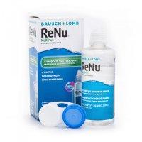 Раствор для контактных линз RENU Multi Plus 120мл + контейнер