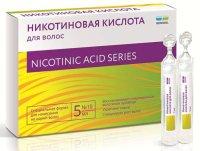 Никотиновая кислота для волос амп. 5мл №10