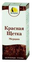 """Красная щетка """"Мерцана"""""""