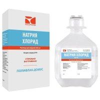 Натрия хлорид-СОЛОфарм фл.(р-р д/инф.) 0,9% 200мл №1 пачк.карт.
