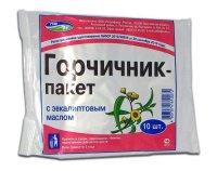 Горчичник-пакет с эвкалиптовым маслом пак.(пор.) №10