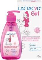 Лактацид Girl (д/девочек с 3-х лет) средство Экстрамягкое д/интимн. гигиены (персик, алоэ вера, молочная кислота) 200мл