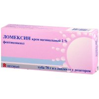 Ломексин крем ваг. 2% 78г