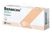 Велаксин таб. 37,5мг №28