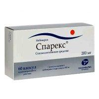 Спарекс капс. с пролонг. высв. 200мг №60 (10х6)