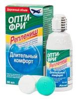 Раствор для контактных линз OPTI-FREE Replanish 90мл + контейнер