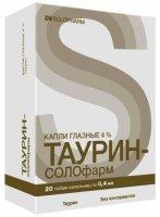 Таурин-Солофарм тюб.-кап.(капли глазн.) 4% 0,4мл №20