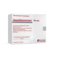 Церебролизин амп.(р-р д/ин.) 10мл №5