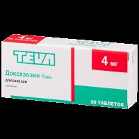 Доксазозин-Тева таб. 4мг №30