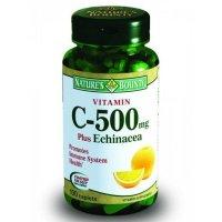 Нэйчес Баунти (Natures Bounty) Витамин C и Эхинацея таб. №100