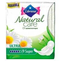 Прокладки гигиенические LIBRESSE Natural Ultra Super Care №9