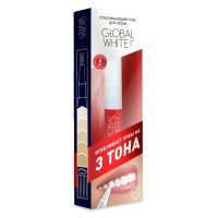 Зубной гель GLOBAL WHITE карандаш отбеливающий 5мл