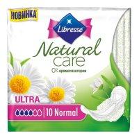 Прокладки гигиенические LIBRESSE Natural Ultra Normal Care №10