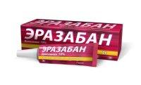 Эразабан крем 10% 2г