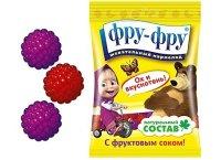 Мармелад ФРУ-ФРУ Ежевика, малина, Маша и Медведь, витамины+сок 100г
