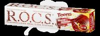 Зубная паста детская РОКС Teens (8-18лет) Кола и Лимон (вкус активного дня) 74г
