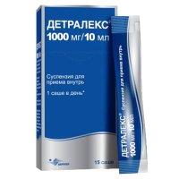 Детралекс сусп. 1000мг/10мл 10мл №15