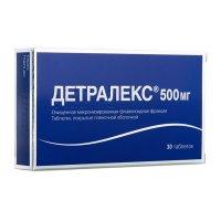 Детралекс таб. п/пл. об. 500мг №30