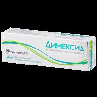 Димексид гель д/наружн. прим. 25% 30г