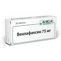 Венлафаксин таб. 75мг №30