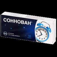 Соннован таб. п/пл. об. 3мг №10