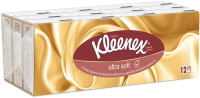 Платок носовой KLEENEX Ultra Soft №12x7