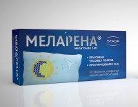 Меларена таб. п/пл. об. 3мг №30