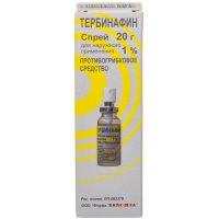 Тербинафин спрей (д/наруж. прим.) 1% 20г
