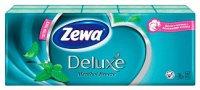 Платок носовой ZEWA Deluxe ментол 10шт.x10