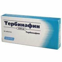 Тербинафин таб. 250мг №10