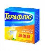 ТераФлю от гриппа и простуды пак.(пор. д/р-ра орал.) №10 (лимон)