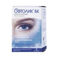 Офтолик БК тюб.-кап. (капли глазн.) 0,4мл №20