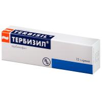 Тербизил туба(крем д/наружн. прим.) 1% 15г №1