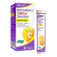 Витамин C 1200 таб. шип. 3,8г №10