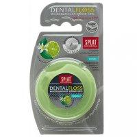Зубная нить СПЛАТ PROFESSIONAL DENTAL FLOSS объемная бергамот/лайм 30м
