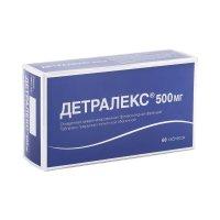 Детралекс таб. п/пл. об. 500мг №60