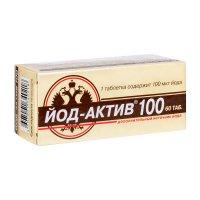 Йод-актив-100 таб. №60