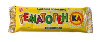 Гематогенка плитка 40г (витаминная)