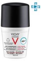 VICHY VICHY HOMME дезодорант-антиперспирант 48ч против пятен 50мл