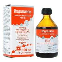 Йодопирон фл.(р-р наружн.) 1% 100мл