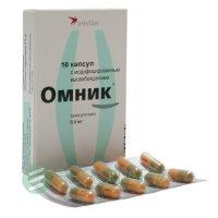 Омник капс. с модиф. высв. 0,4мг №10