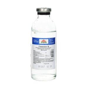 Глюкоза бут.(р-р д/инф.) 5% 200мл