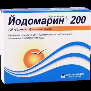 Йодомарин 200 таб. 200мкг №100